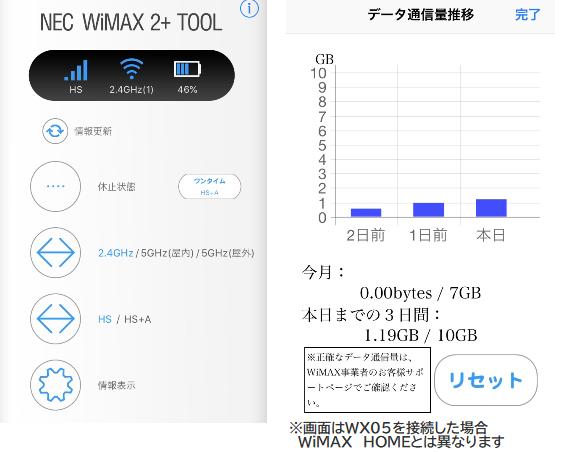 NECのWiMAX2+Tool02