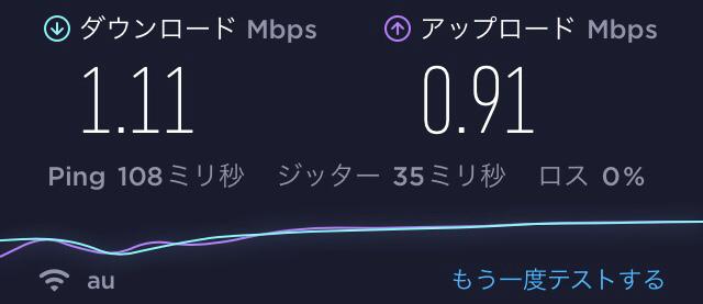 Bluetooth接続速度01
