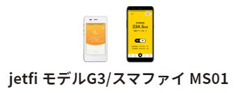 端末はG3とスマファイMS01
