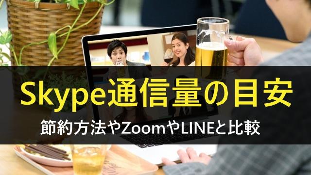 Skype通信量
